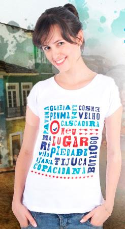 "A camisa ""O meu lugar"""