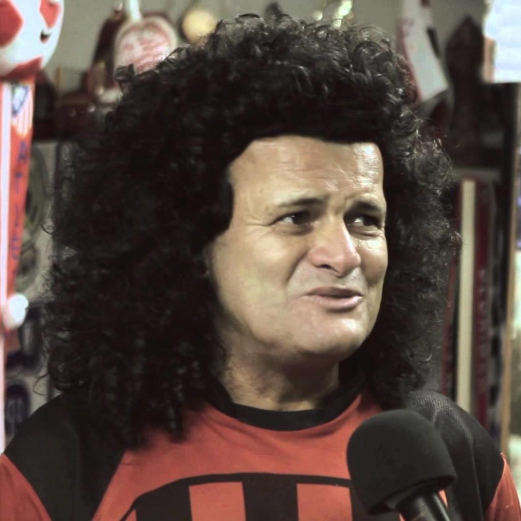 O jogador Mauro Shampoo